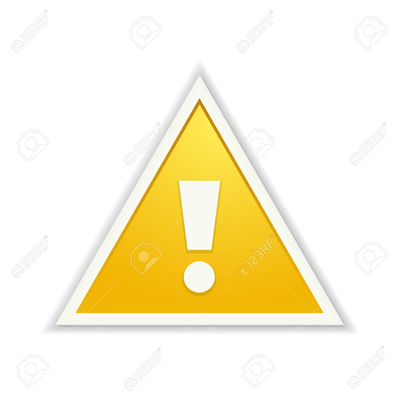 Роутер желтый треугольник с восклицательным знаком